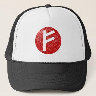 Fehu Rune Trucker Hat