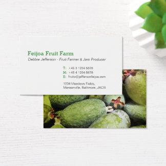 Feijoa fruit farmer / jam maker business cards