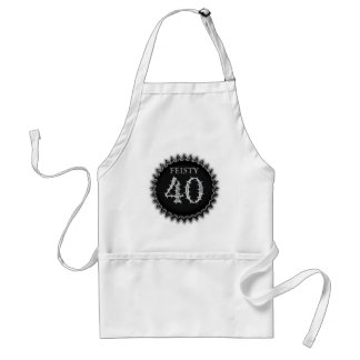 Feisty 40 adult apron