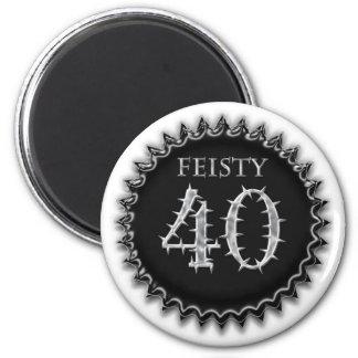 Feisty 40 magnet