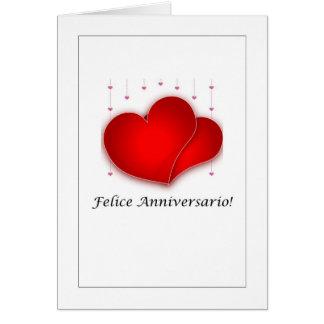 Felice Anniversario Card