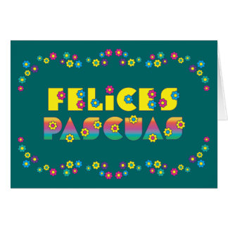 Felices Pascuas Card