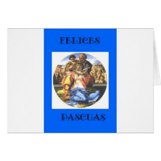 Felices Pascuas Spanish Easter Card
