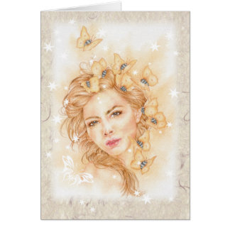"""Felicity"" Note card - Blank inside"