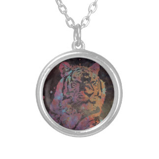 Felidae Silver Plated Necklace