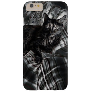 Feline Black and White Barely There iPhone 6 Plus Case