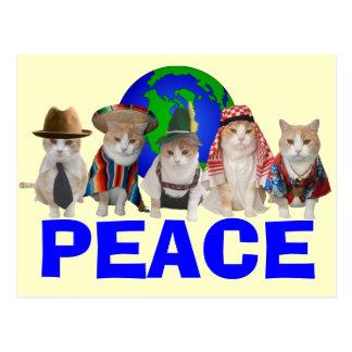 Feline Diplomatic Corps Postcard