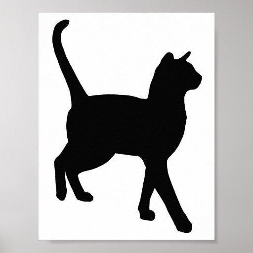 Feline Elegance Posters
