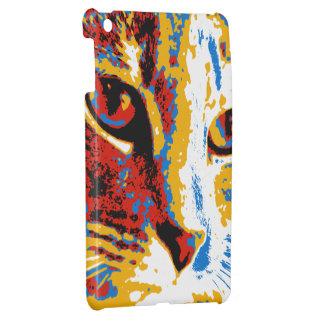 Feline Face Abstract Case For The iPad Mini