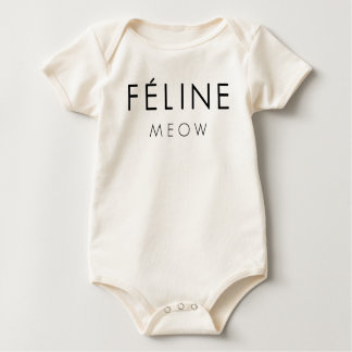 Feline Meow Baby Bodysuit