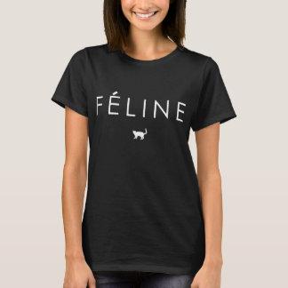 FELINE MEOW CAT LOGO T-Shirt
