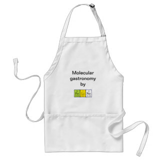 Feline periodic table name apron