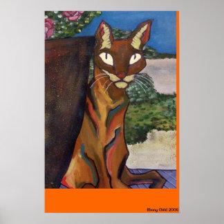 Feline Print