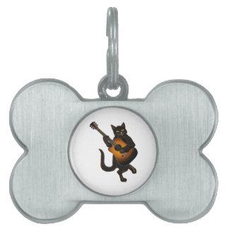 Feline Tune Pet Name Tag
