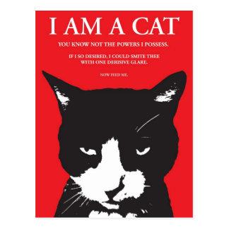 Feline Uberlord - Postcard