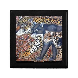 Felines of Costa Rica - Big cats jeweler Gift Box