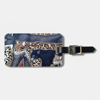 Felines of Costa Rica - Big cats Luggage Tag