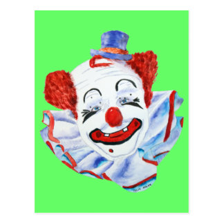 Felix Adler Clown Postcard