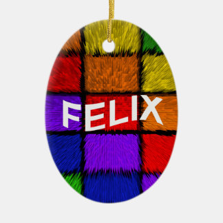 FELIX CERAMIC ORNAMENT