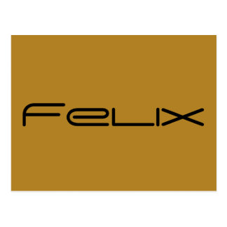 felix, character name from Orphan Black,geometric Postcard