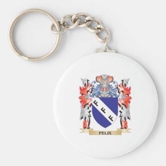 Felix Coat of Arms - Family Crest Key Ring
