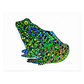 Felix Hip Hop Frog Postcard