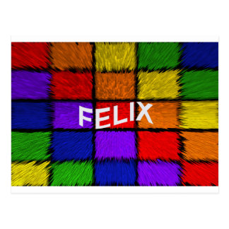 FELIX POSTCARD