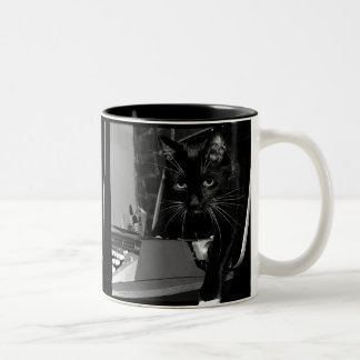 Felix the Cat Two-Tone Coffee Mug