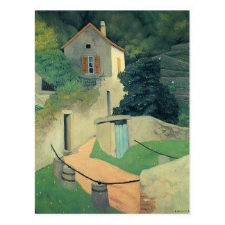 Felix Vallotton - A Vallon Landscape Postcard