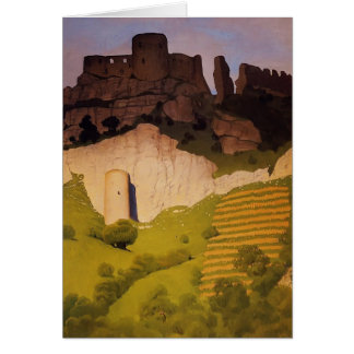 Felix Vallotton - Chateau Gaillard at Andelys Card