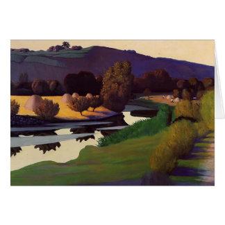 Felix Vallotton - Evening on the Loire Card