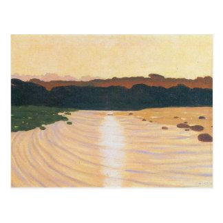 Felix Vallotton - Evening scene Postcard
