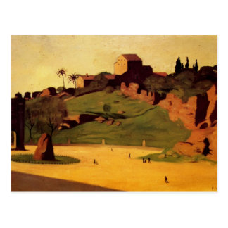 Felix Vallotton - Forum Roman Postcard