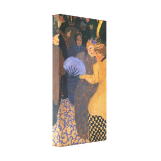 Felix Vallotton - In the music hall Gallery Wrap Canvas