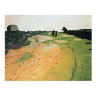 Felix Vallotton - Landscape in Breton Postcard