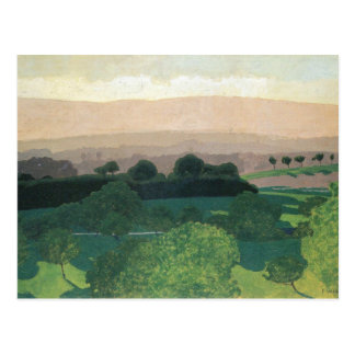 Felix Vallotton - Landscape in Romanel Postcard