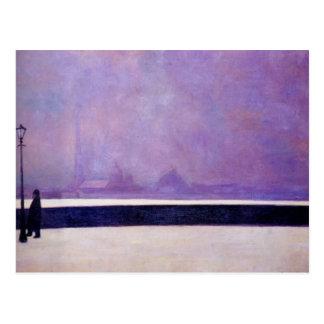 Felix Vallotton - Neva, light fog Postcard