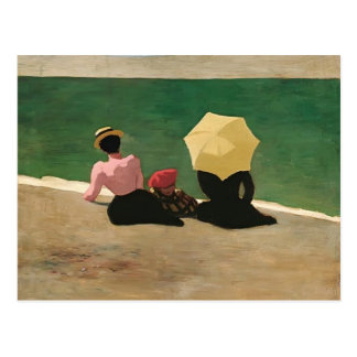 Felix Vallotton - On the Beach Postcard