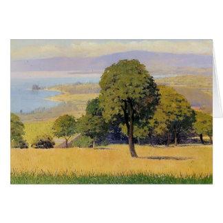 Felix Vallotton - Outskirts of Lausanne Card