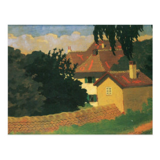 Felix Vallotton - Remembering Romanel Postcard