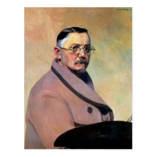 Felix Vallotton - Self-portrait with dressing gown Postcard