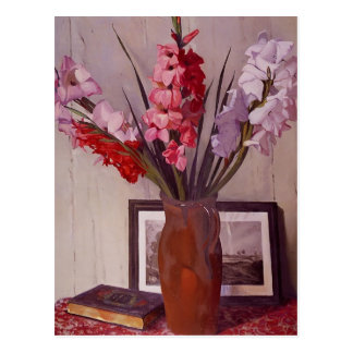 Felix Vallotton - Still Life with Gladioli Postcard