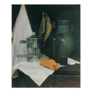 Felix Vallotton-Still Life with Herrings Poster
