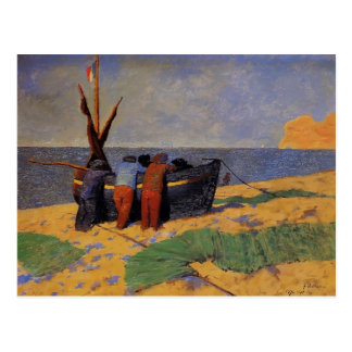 Felix Vallotton -The Fourteenth of July at Etretat Postcard