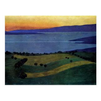 Felix Vallotton -The Lake Leman, effect of evening Postcard