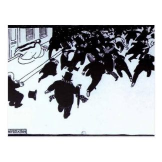 Felix Vallotton : The Manifistation Postcard
