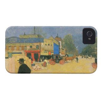 Felix Vallotton - The Place Clichy in Paris iPhone 4 Case-Mate Case