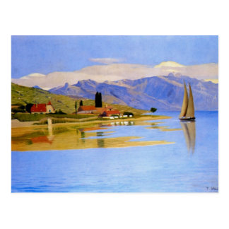 Felix Vallotton - The Port of Pully Postcard