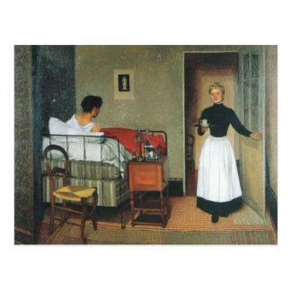 Felix Vallotton - The sick Postcard