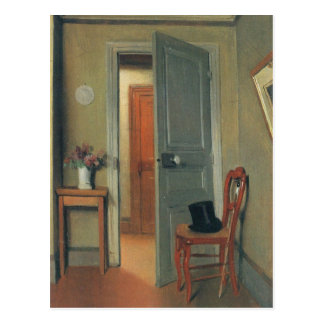 Felix Vallotton - The visit Postcard